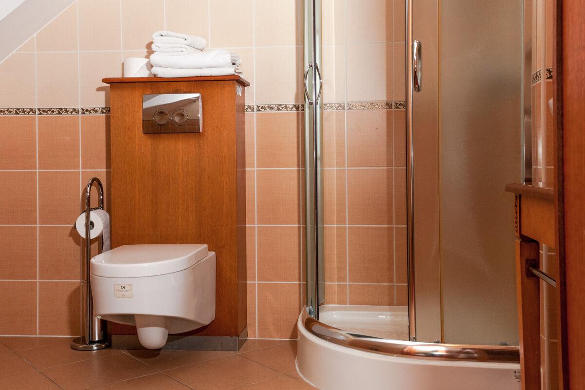 sandomierz łazienka w hotelu korona
