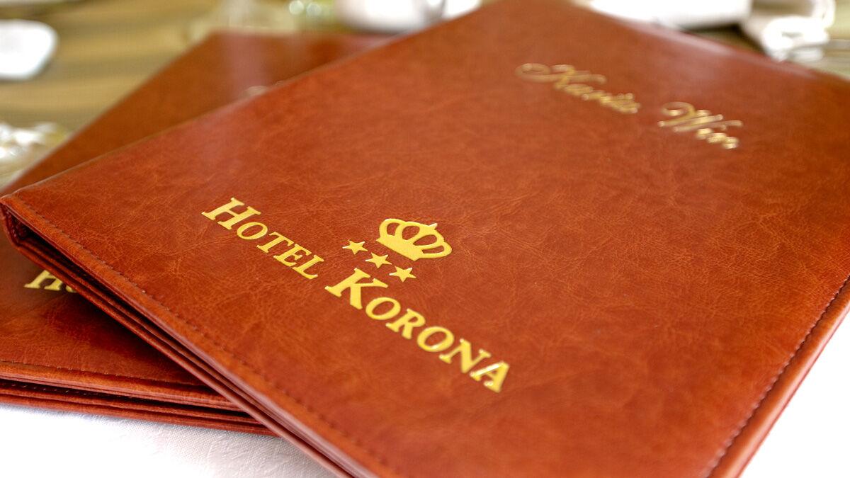 menu hotel i restauracja korona sandomierz
